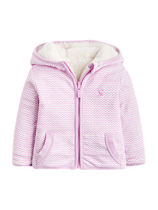 Buy Baby Joule Cossete Zig Zag Jacket, Multi, 0-3 months Online at johnlewis.com
