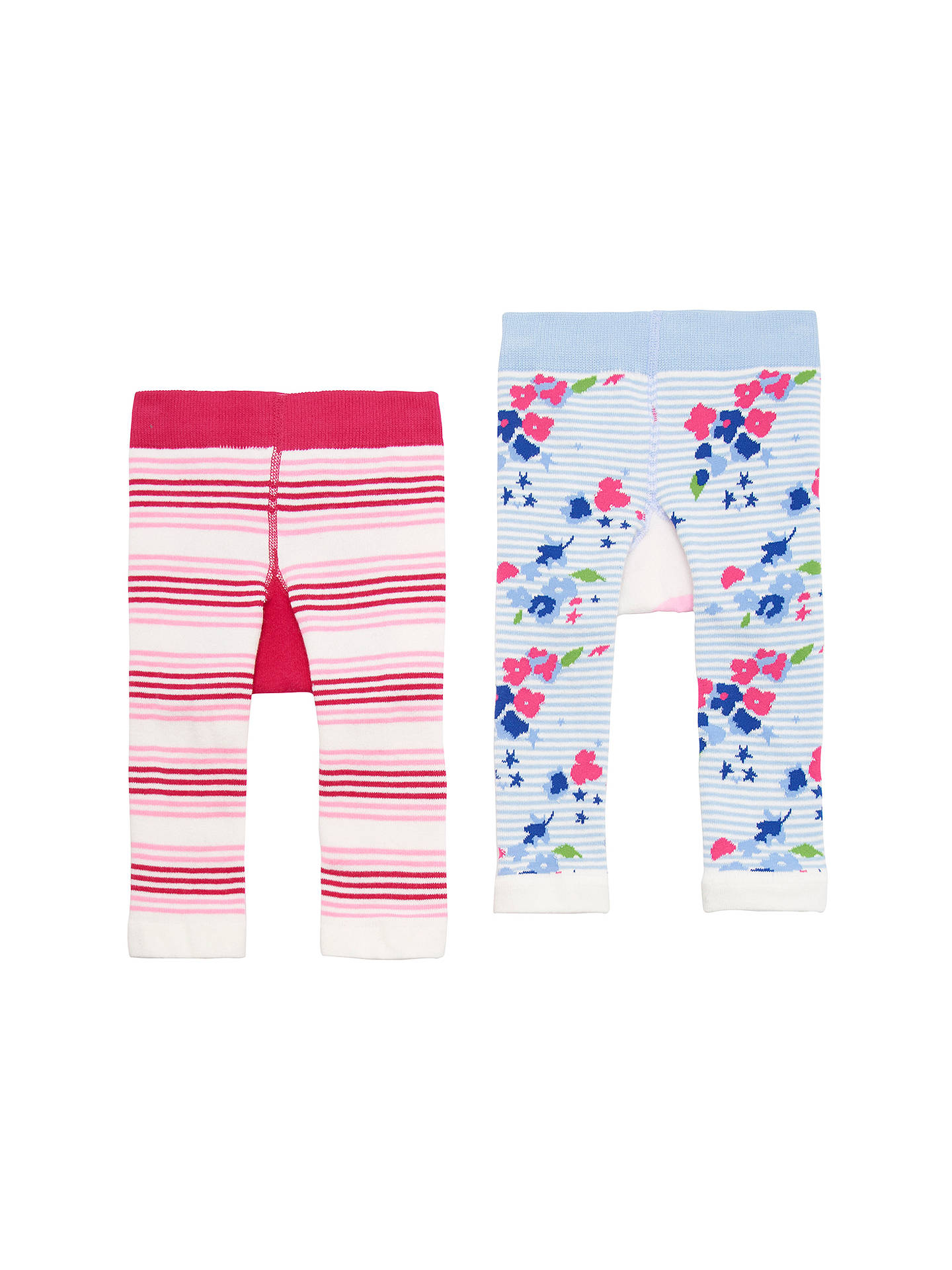 0e003923fb47f6 ... Buy Baby Joule Lively Legs Bunny and Owl Leggings, Pack of 2, Pink/ ...