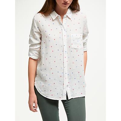 Rails Charli Watercolour Star Print Shirt, White