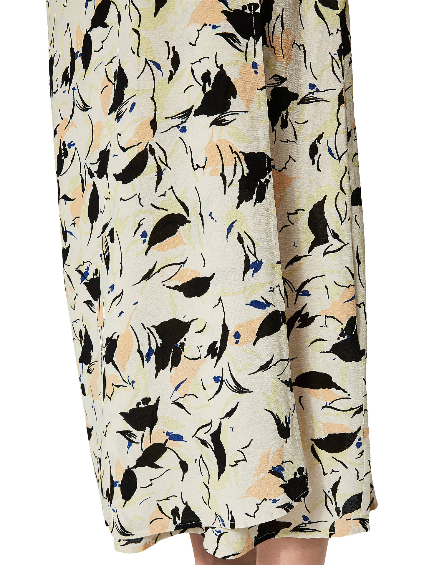 Buy Selected Femme Flori Print Wrap Ankle Skirt, Sand Dollar, 10 Online at johnlewis.com