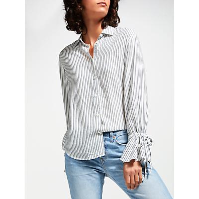 Levi's Elsie Tie Sleeve Stripe Shirt, Millbrae Medieval Blue