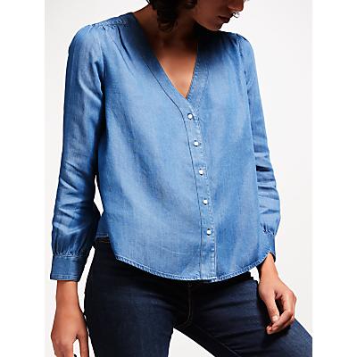 Levi's Malika Denim Shirt, Dark Mid Wash