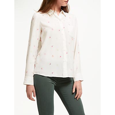 Rails Kate Printed Silk Shirt, Beachside