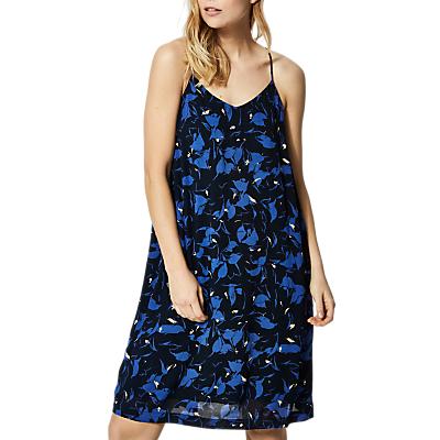 Selected Femme Lori Print Strap Dress, Dark Sapphire