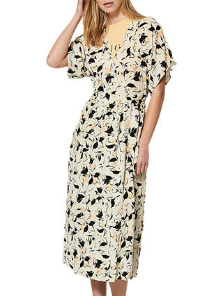 Buy Selected Femme Flori Kimono Wrap Dress, Sand Dollar, 12 Online at johnlewis.com