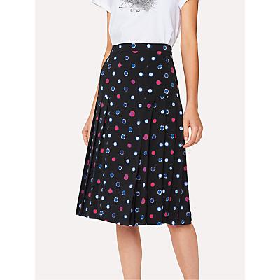 Paul Smith Scribble Spot Print Skirt, Black