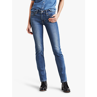 Levi's 712 Mid Rise Slim Jeans, Off The Record