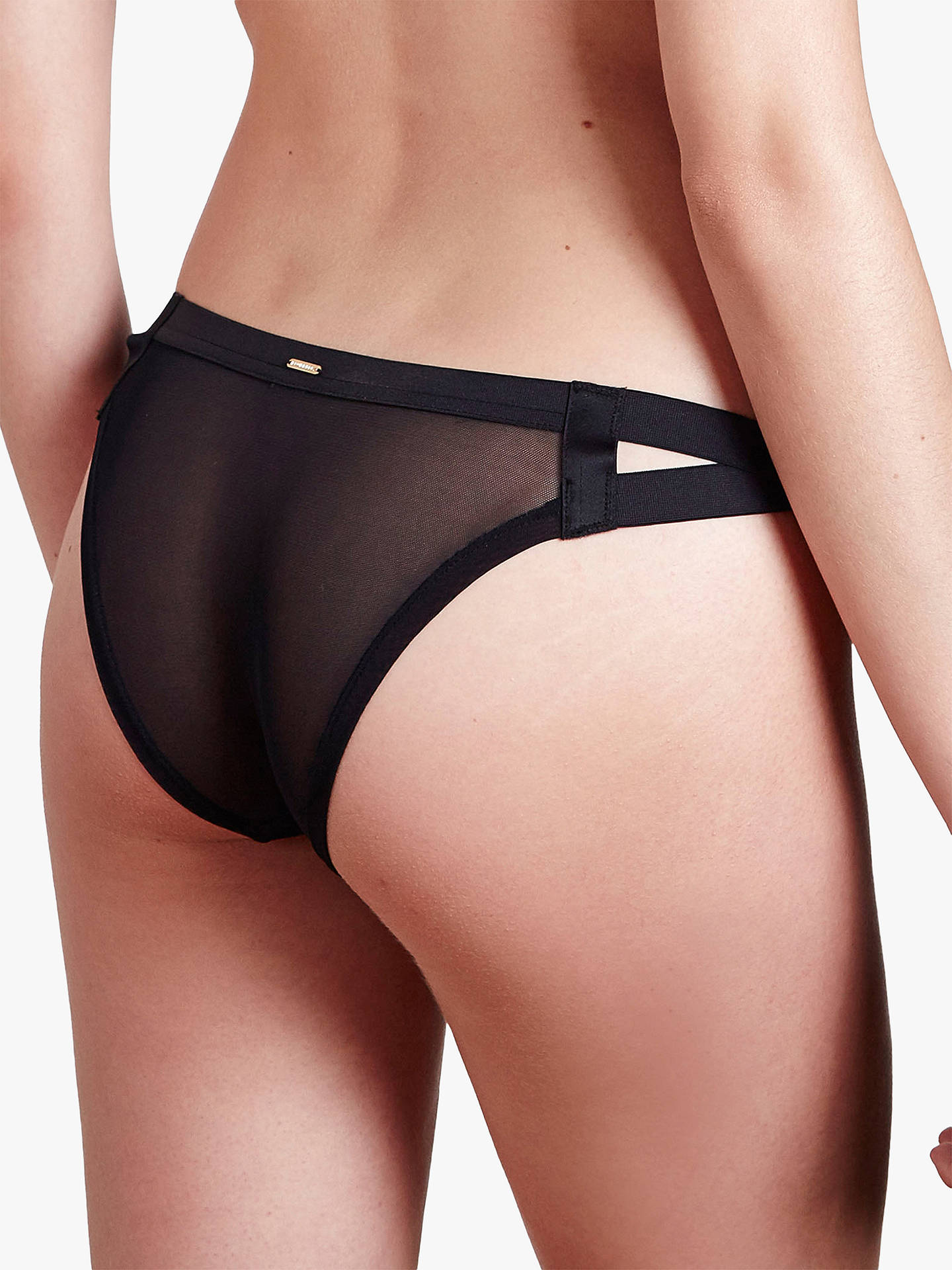 Buy Bluebella Aura Briefs, Black, 8 Online at johnlewis.com