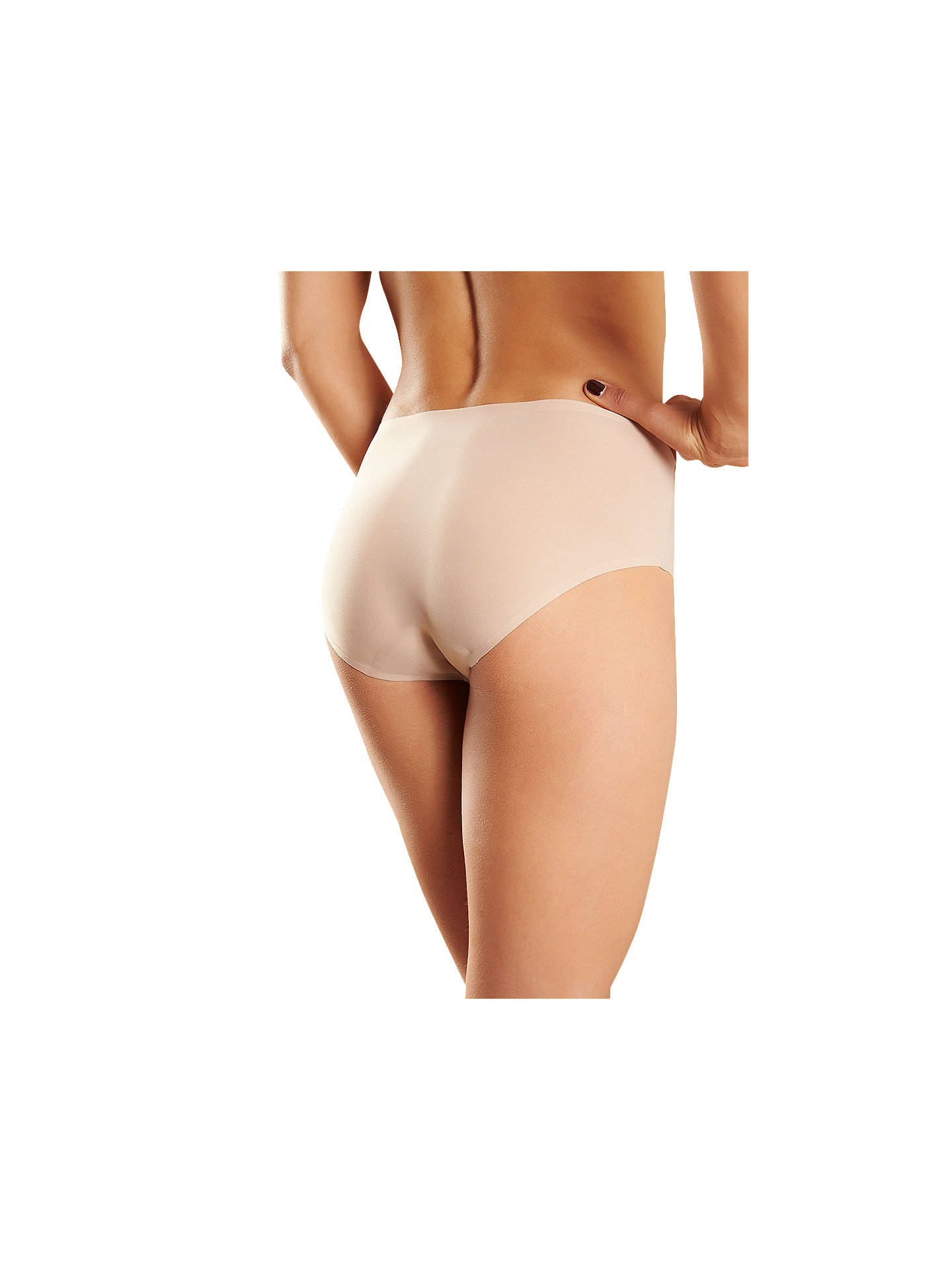 BuyChantelle Soft Stretch Hipster Briefs, Nude, One Size Online at johnlewis.com