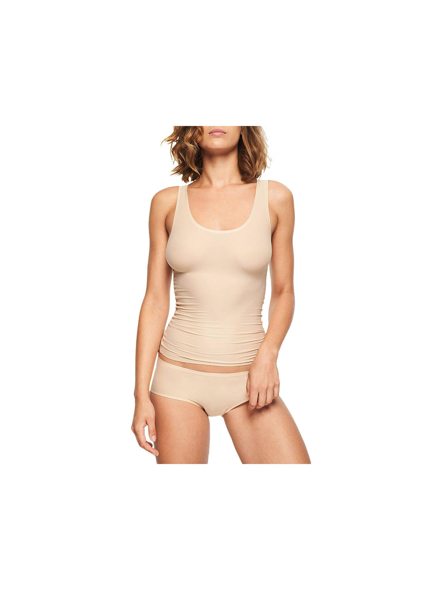 64992ef43eff Buy Chantelle Soft Stretch Vest, Nude, One Size Online at johnlewis.com ...