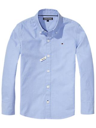 Tommy Hilfiger Boys' Oxford Shirt, Blue