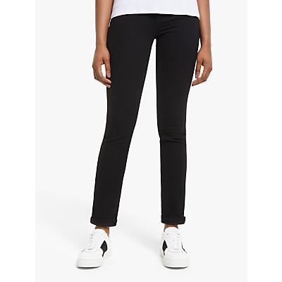 Levi's 724 High Rise Straight Jeans, Black Sheep