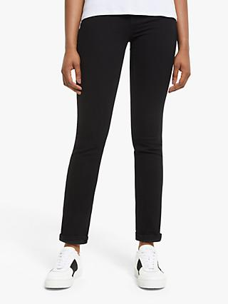 Levi's 724 High Rise Straight Jeans, Black Sheep