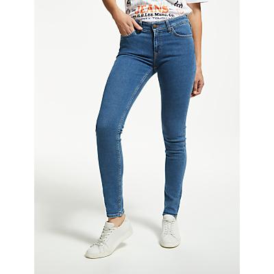 Lee Scarlett Skinny Jeans, Flat Stone