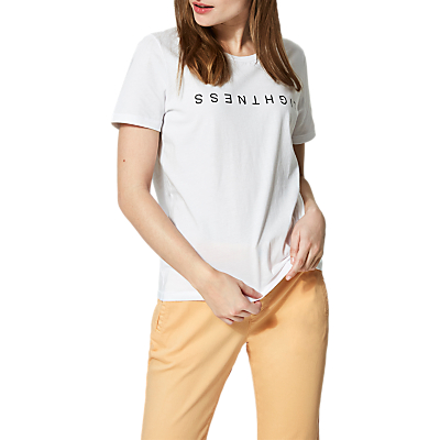 Selected Femme Josefine T-Shirt, Bright White