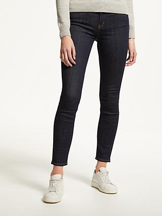 Calvin Klein Mid Rise Skinny Jeans, Amsterdam Blue Rinse