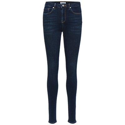 Selected Femme Slfida Skinny Jeans, Dark Blue Denim