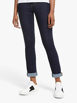 Levi's 724 High Rise Straight Jeans, To The Nine