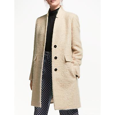 Marella Medea Wool Mohair Coat, Beige