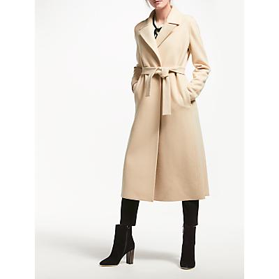 Marella Rame Wool Maxi Coat, Beige