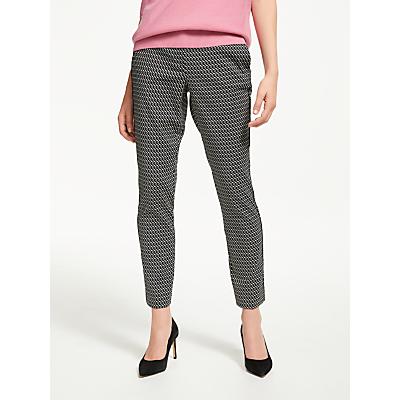 Marella Jacquard Trousers, Cream