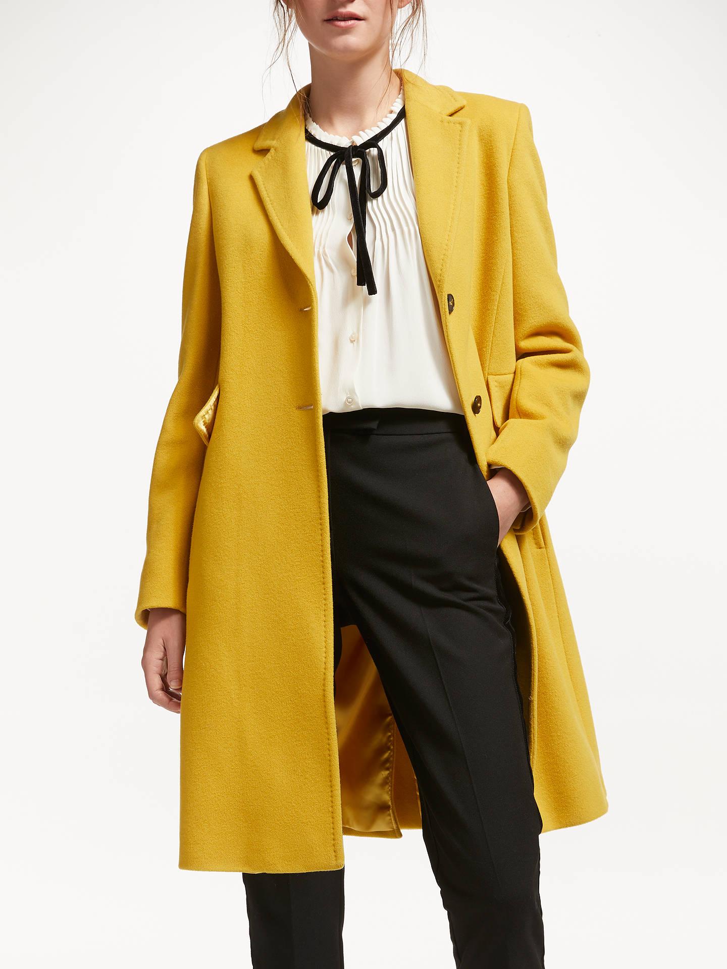 e2478acb2956 Marella Topstitch Tailored Coat