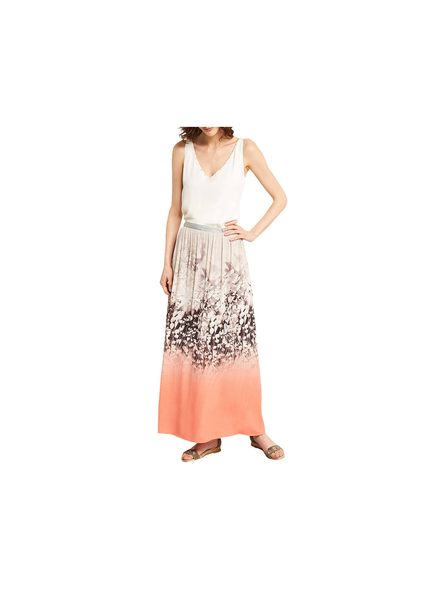 94ddd938f Buy Mint Velvet Meadow Printed Maxi Skirt, Multi, 6 Online at johnlewis.com  ...