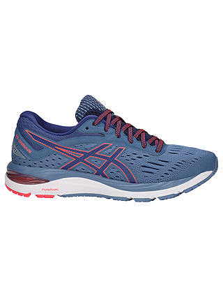 Buy ASICS GEL-CUMULUS 20 Women's Running Shoes, Azure/Blue Print, 4 Online at johnlewis.com