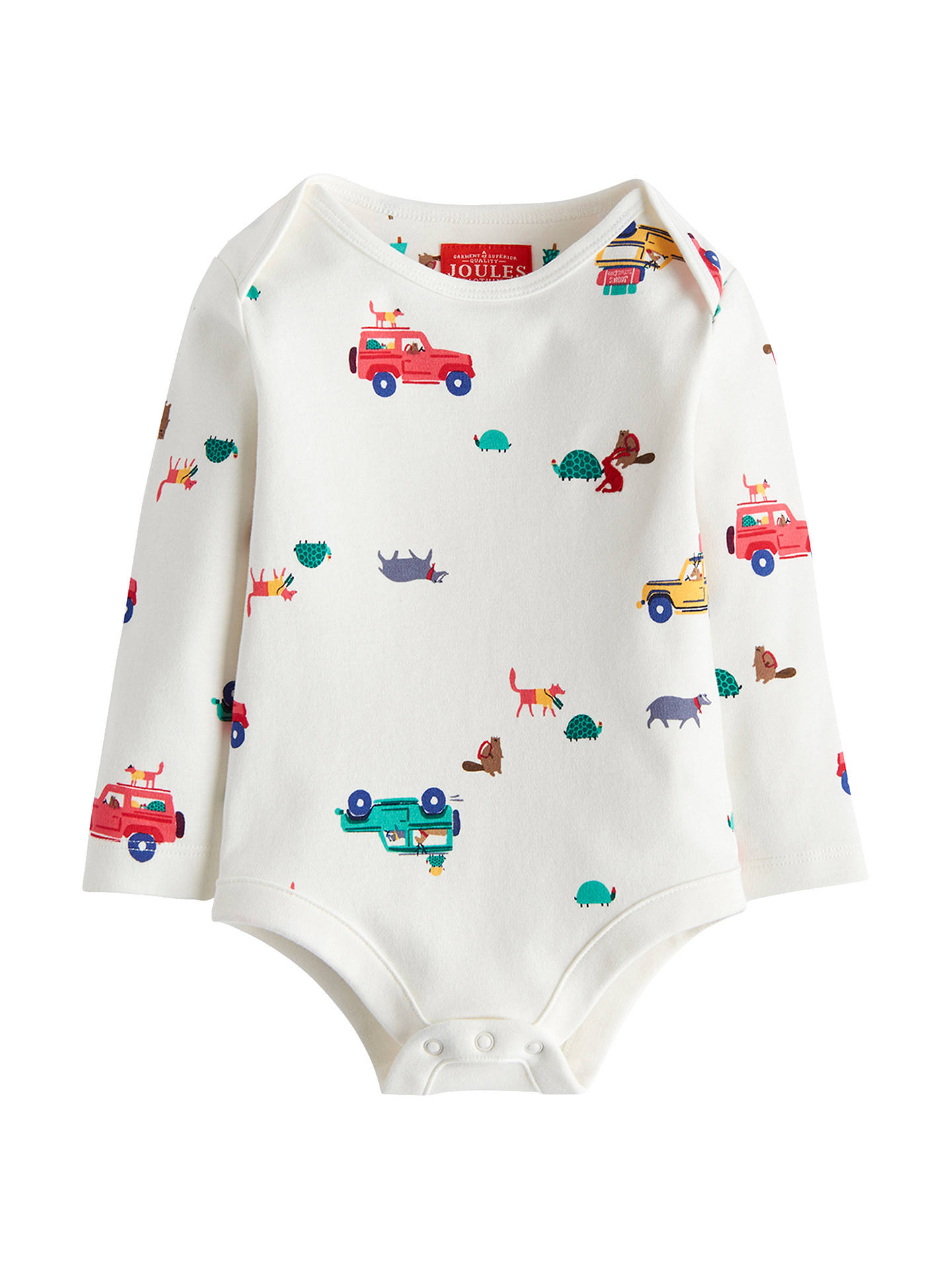 Buy Baby Joule Snazzy Scout Bodysuit, Multi, 0-3 months Online at johnlewis.com