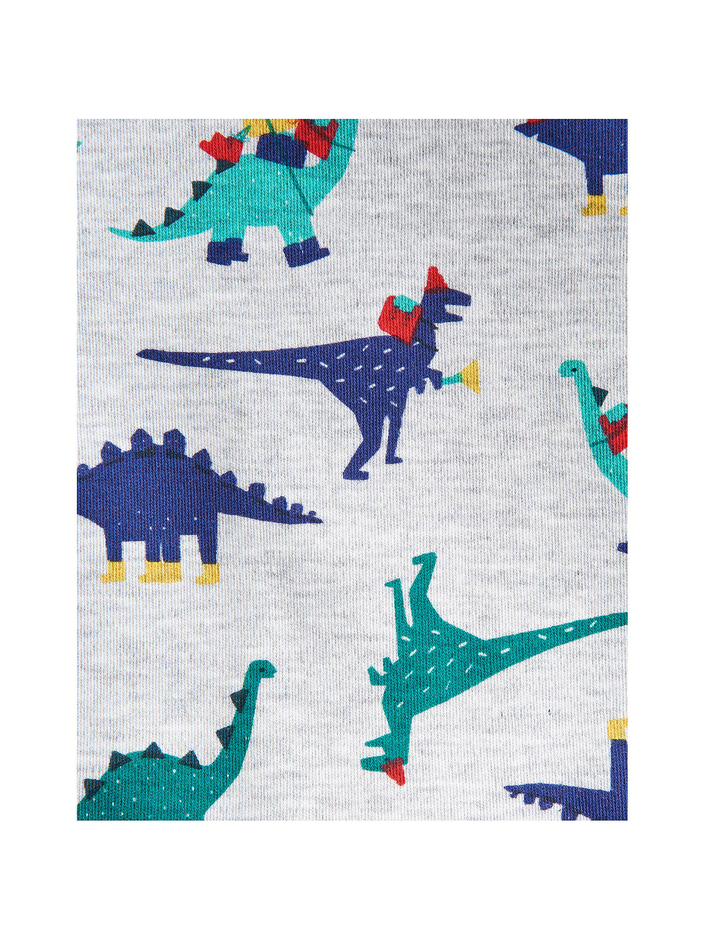 BuyBaby Joule Snazzy Dino Bodysuit, Grey, 0-3 months Online at johnlewis.com