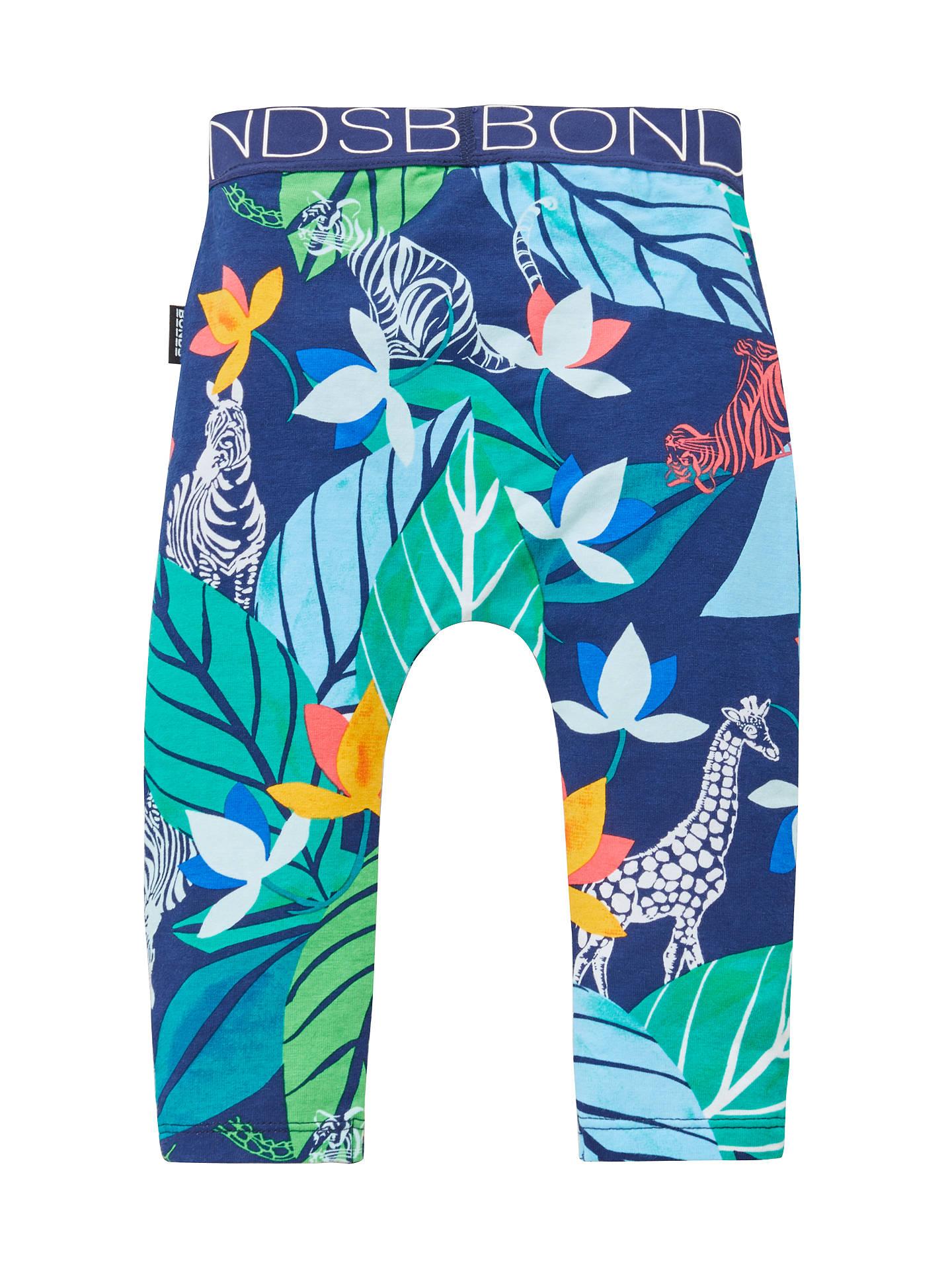 2a0148e3a8e6d Buy Bonds Baby Jungle Stretch Leggings, Blue/Multi, Newborn Online at  johnlewis.