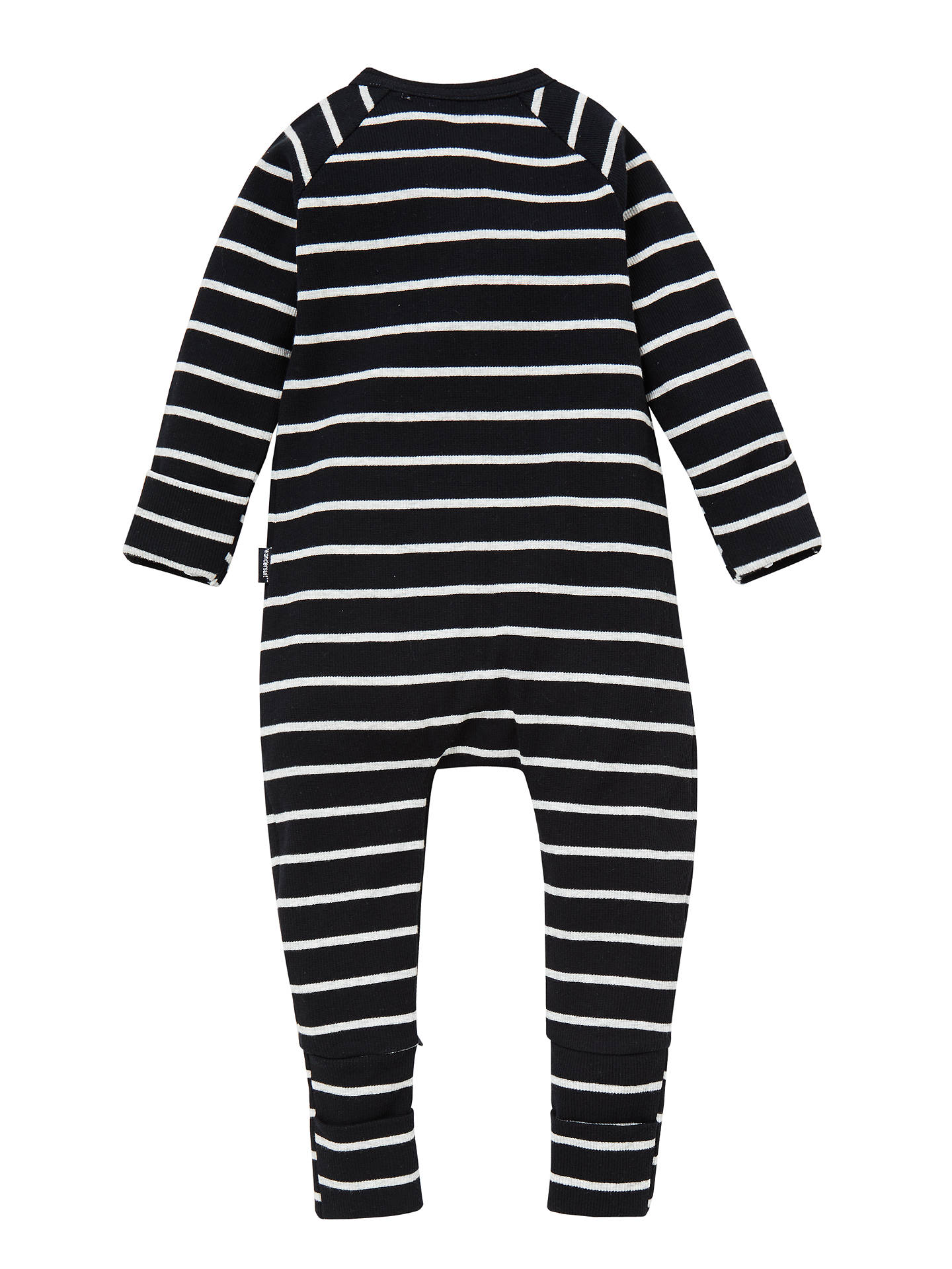 BuyBonds Baby Zippy Marble Stripe Wondersuit, Multi, Newborn Online at johnlewis.com
