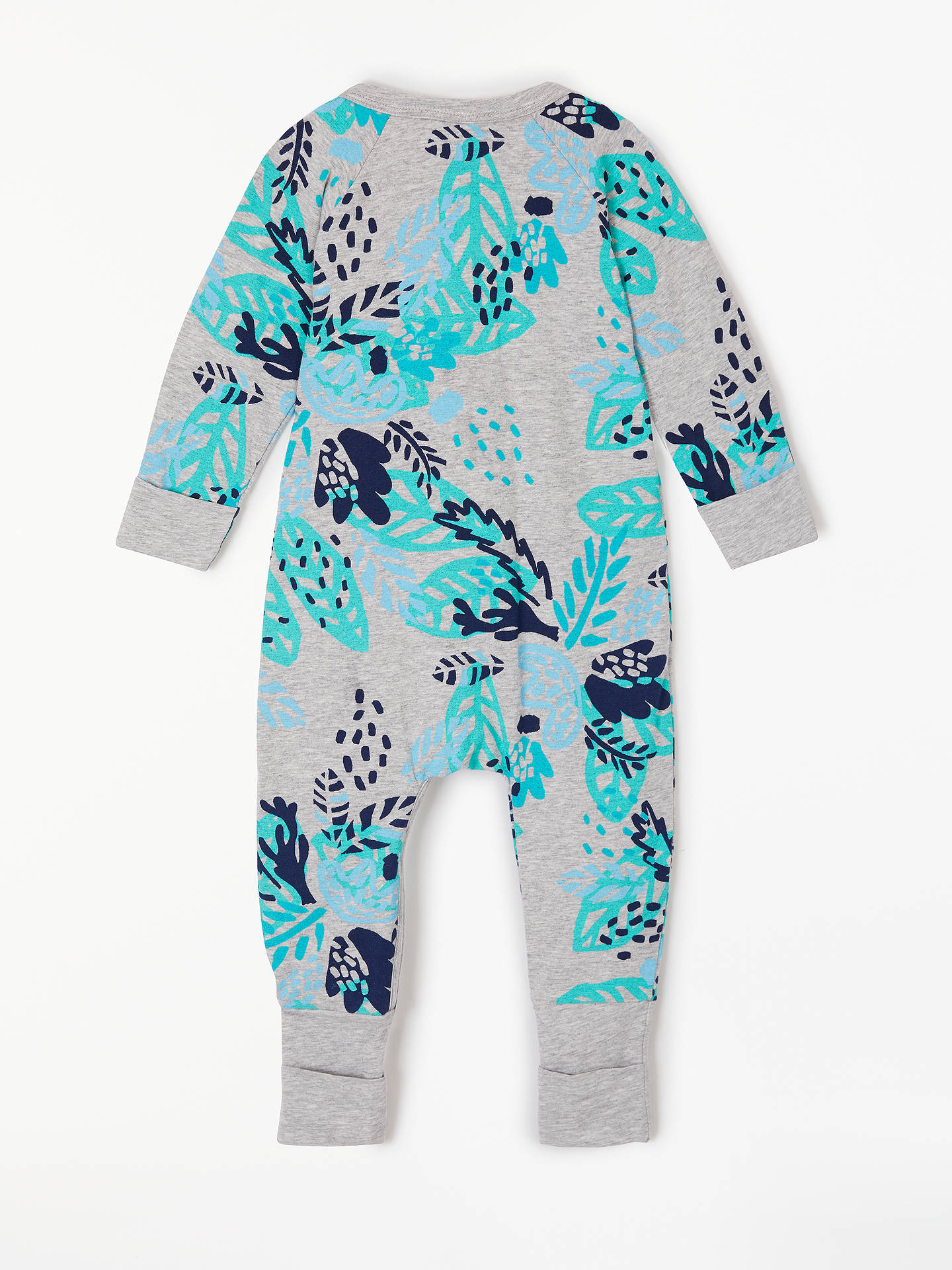 Buy Bonds Baby Zippy Desert Palm Wondersuit, Multi, Newborn Online at johnlewis.com