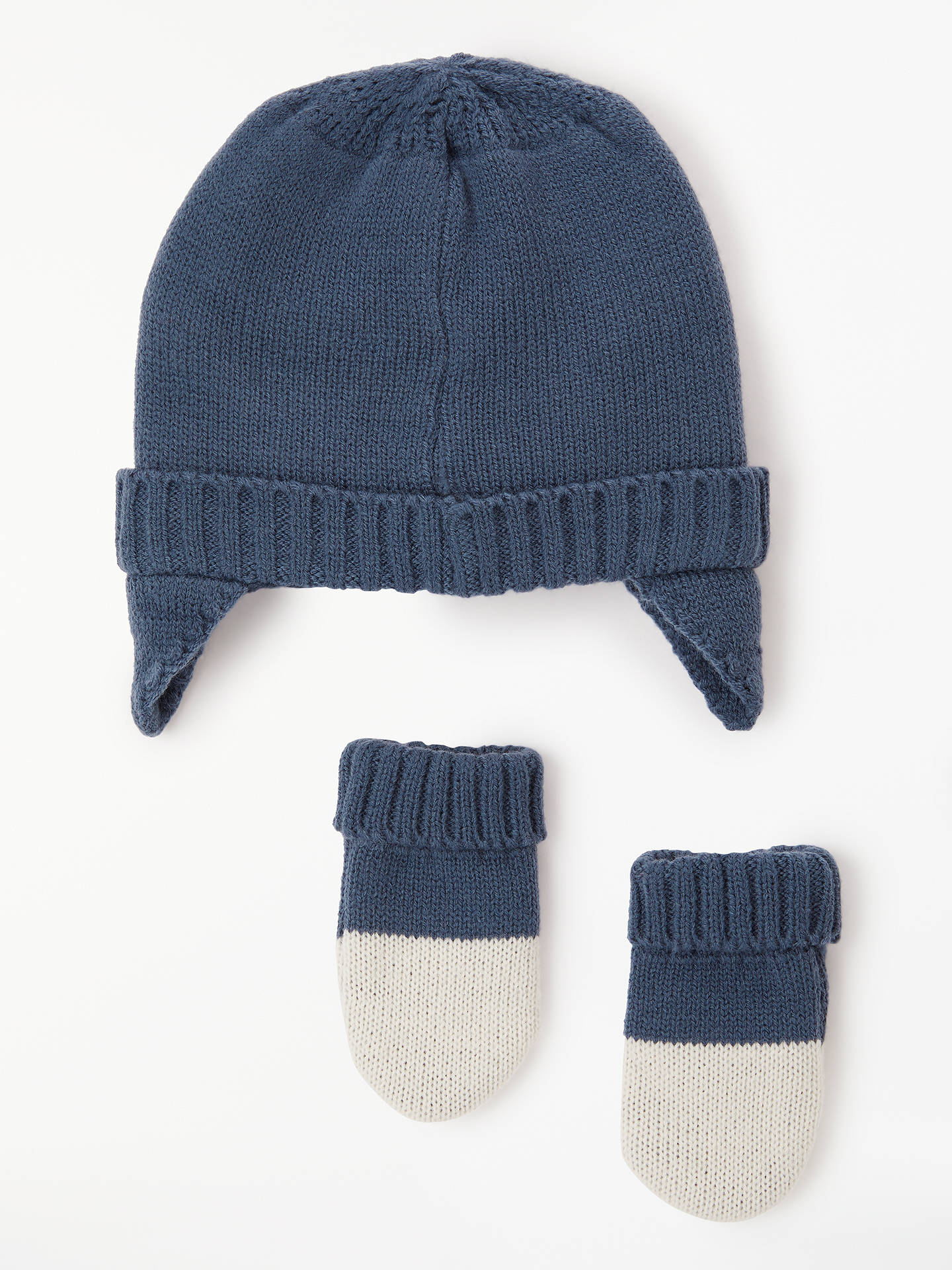 4e5f8f20b28 ... Buy John Lewis   Partners Baby Penguin Hat and Mittens Set