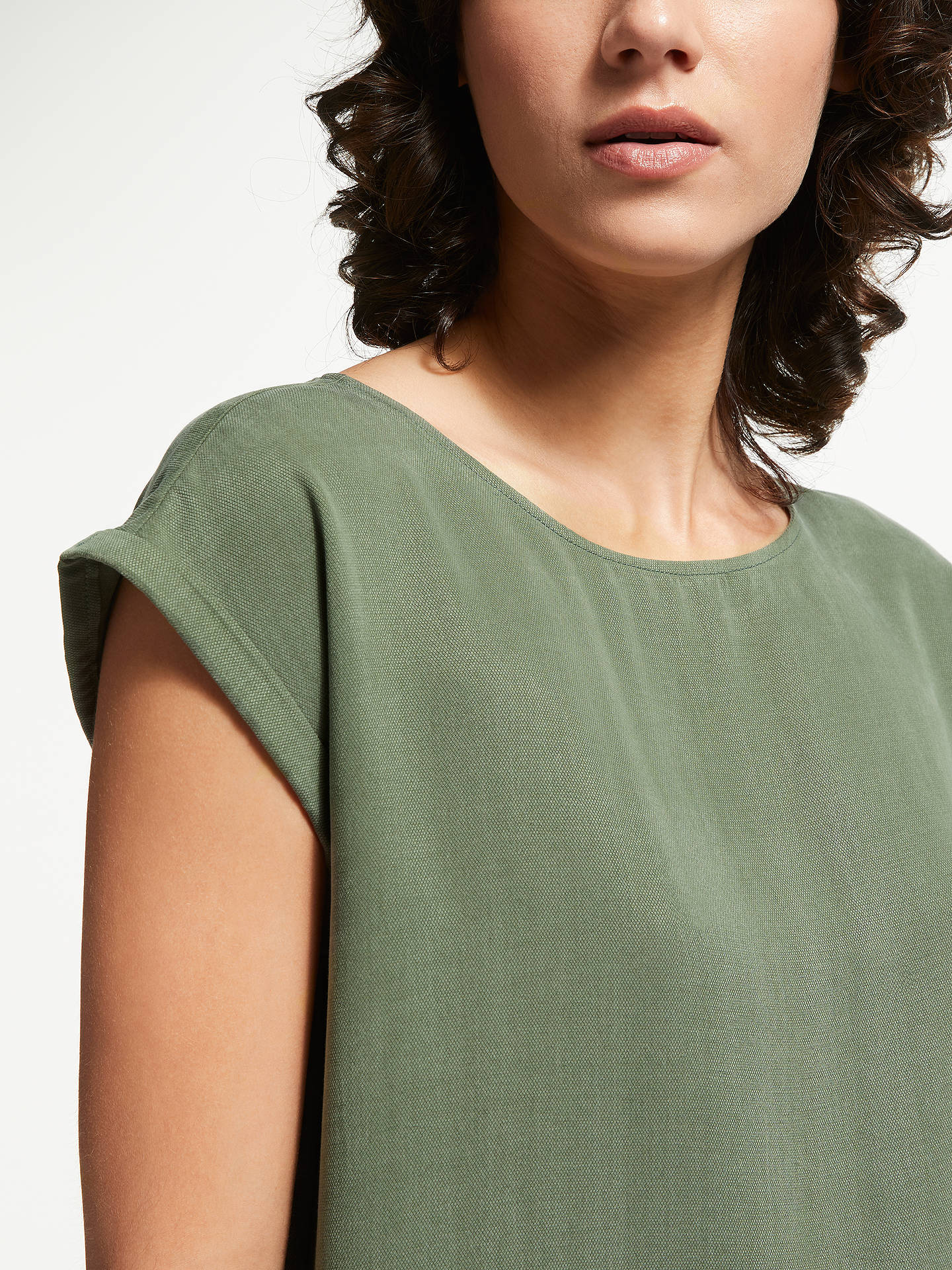 Buy ARMEDANGELS Hila Dress, Khaki, S Online at johnlewis.com
