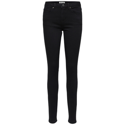 Selected Femme Slfida Skinny Jeans, Black Denim