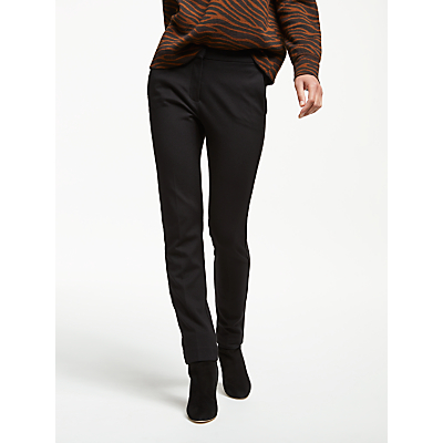 Weekend MaxMara Morgana Jersey Cigarette Trousers, Black