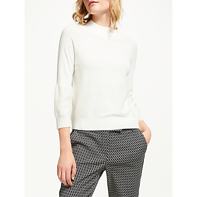Marella Alare Wool Knitted Jumper, White