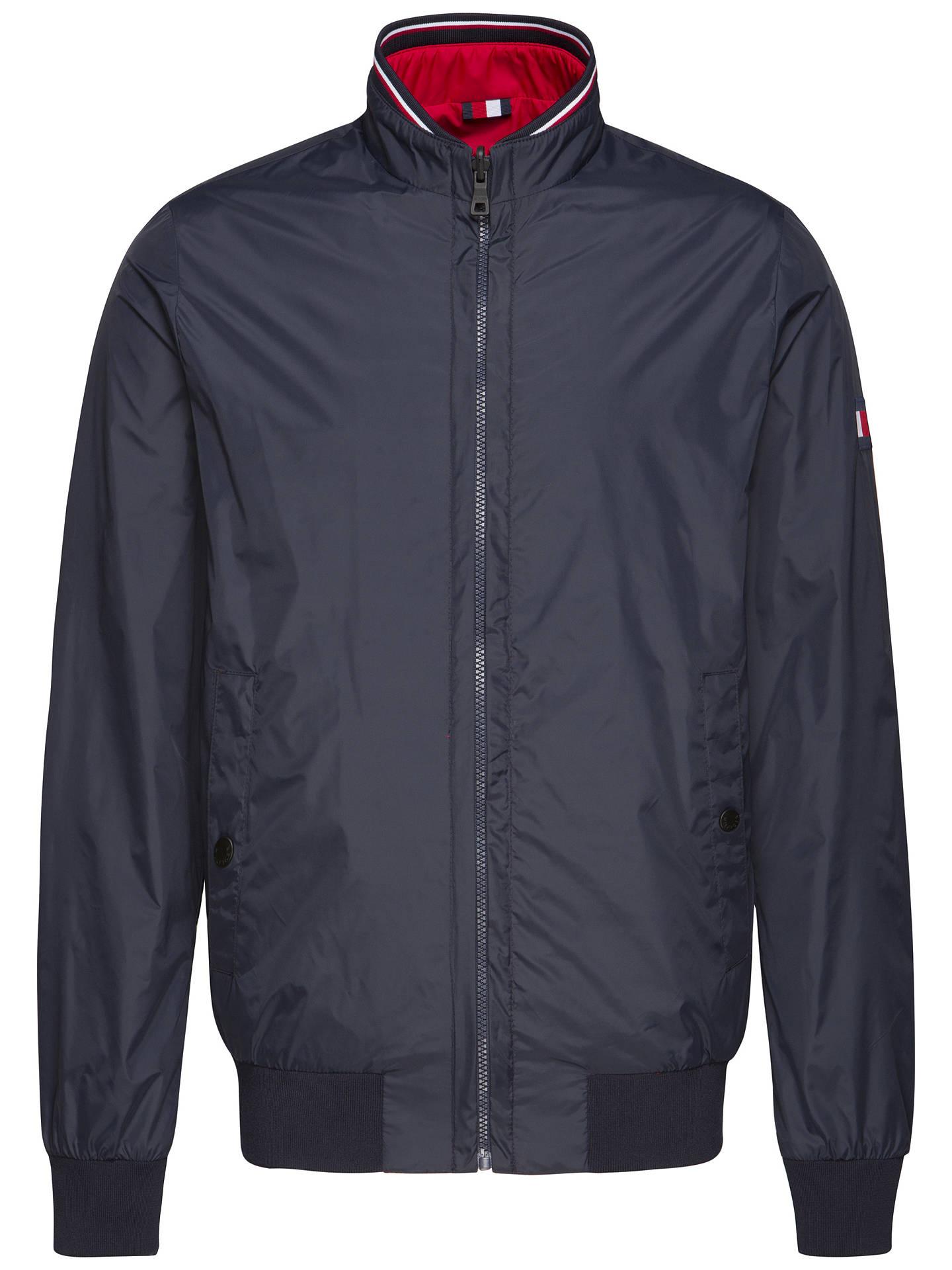 a0661d0f Buy Tommy Hilfiger Reversible Bomber Jacket, Blue, M Online at  johnlewis.com ...