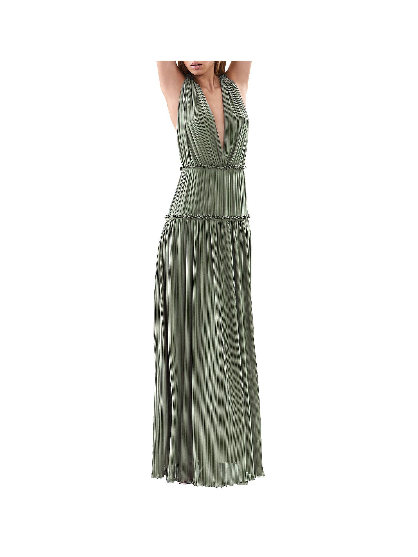 44df725ca4d Buy Reiss Gigi Pleat Maxi Dress