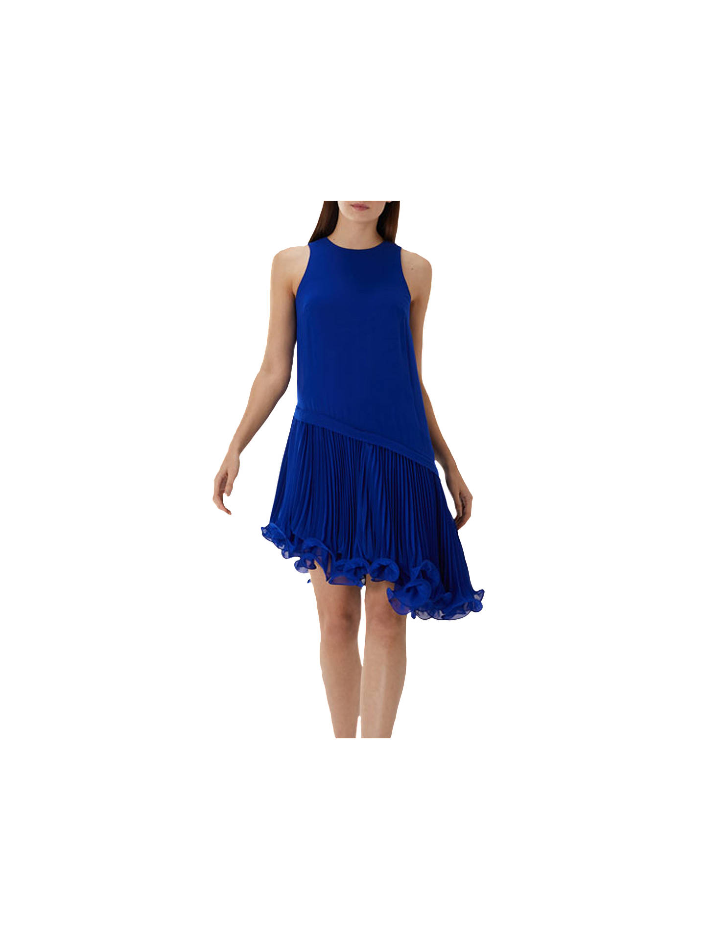 6fe362b48df27 Buy Coast Peyton Dress, Cobalt Blue, 6 Online at johnlewis.com ...