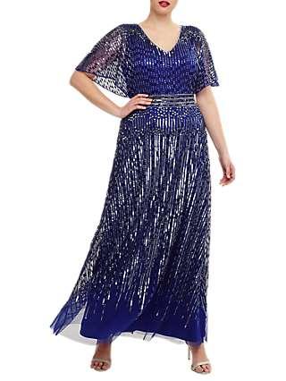 Studio 8 Athena Maxi Dress, Cobalt Blue