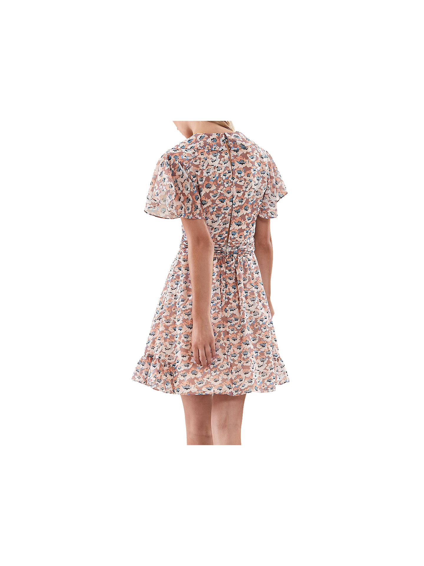 Buy Reiss Aime Dress, Pink, 6 Online at johnlewis.com