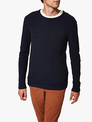 SELECTED HOMME Organic Cotton Knitted Jumper