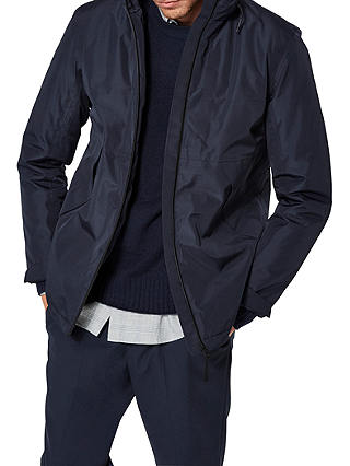 Buy SELECTED HOMME Rob Tech Jacket, Blue, L Online at johnlewis.com