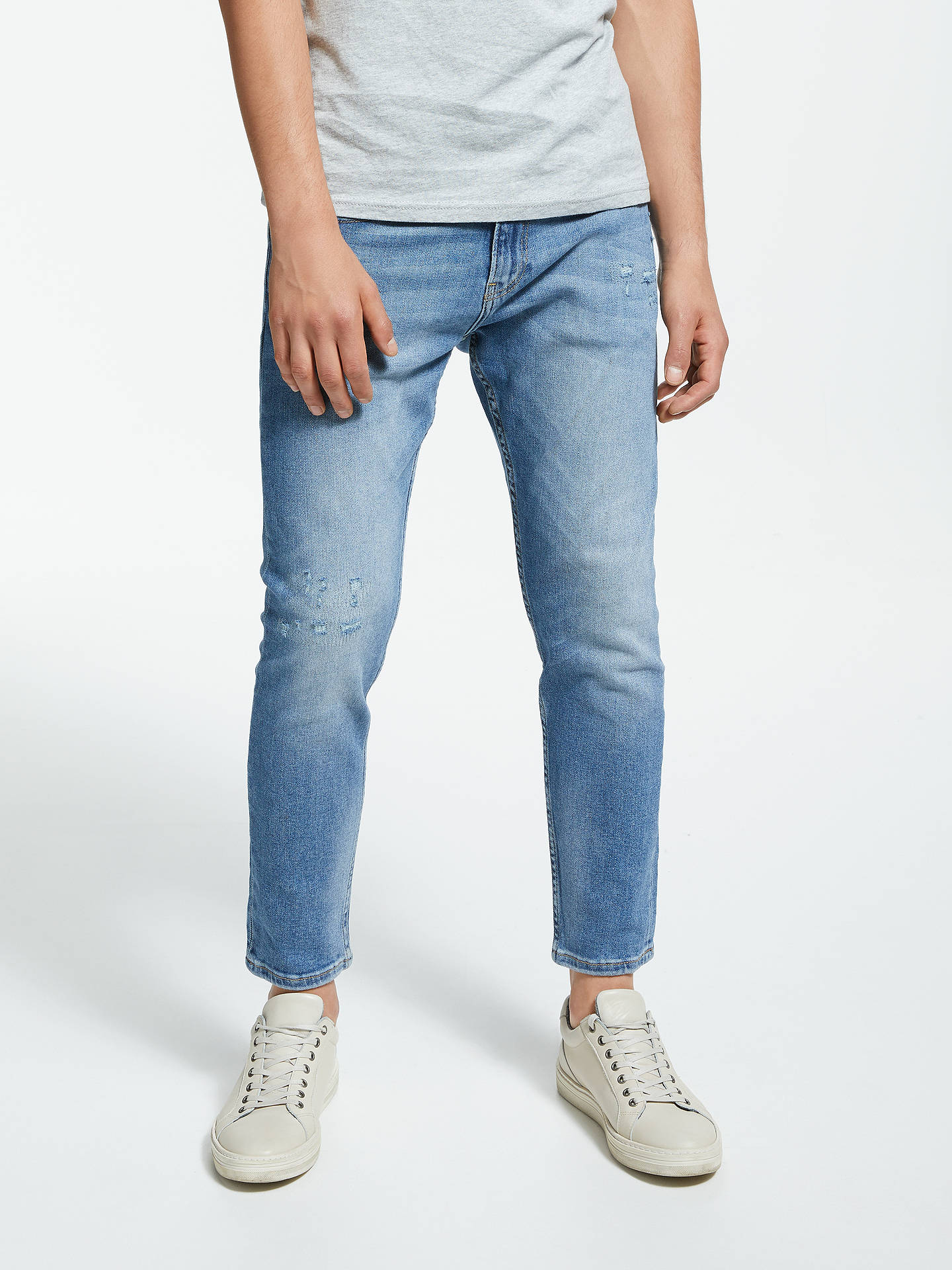 02b282cef Buy Tommy Jeans Modern Tapered Jeans, Blue, 34S Online at johnlewis.com ...