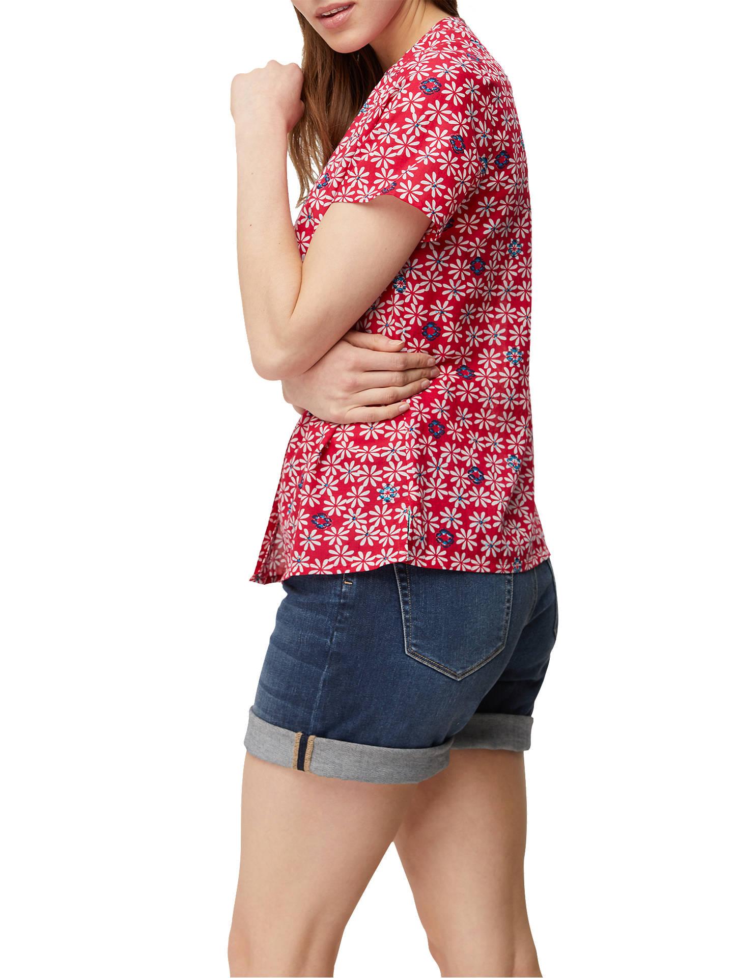 ... Lengan Pendek Baju Dress Wanita Murah. Source · White Stuff Flavia Floral Shirt Pink Multi At John Lewis Partners Flavia Blouse Buywhite 6 Online