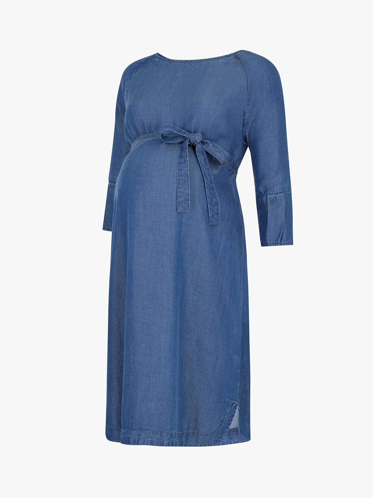 b2df5bc6158d6 ... Buy Séraphine Bernice Chambray Maternity Dress, Blue, 10 Online at  johnlewis.com