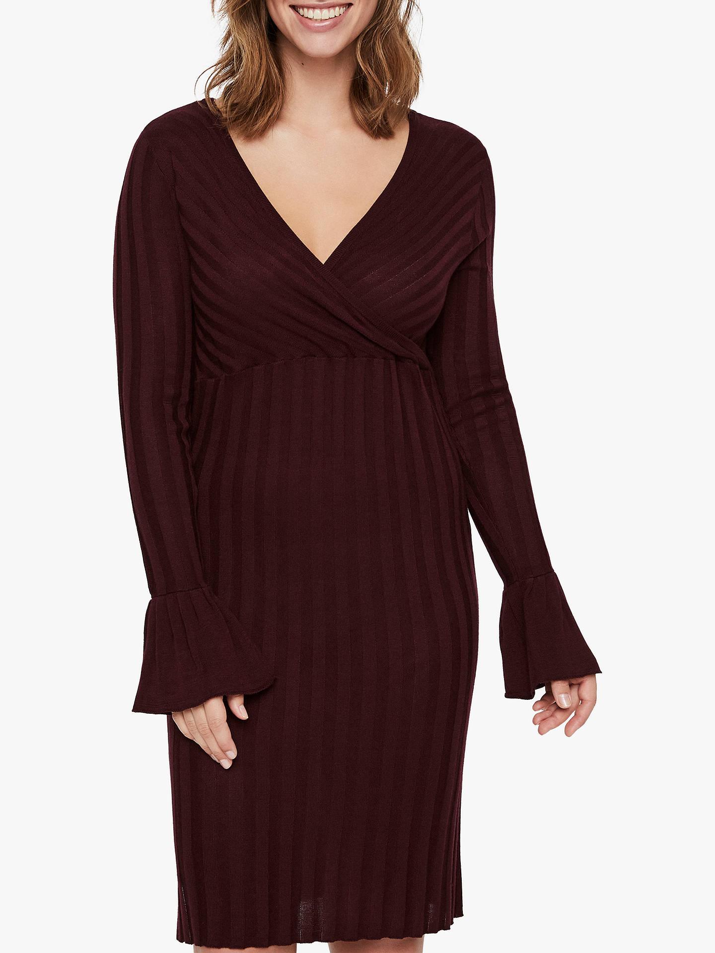 3a661ecb25f Buy Mamalicious Zanne Tess Knitted Maternity and Nursing Dress