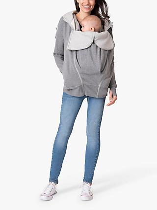 Séraphine Connor 3-in-1 Maternity Hoodie, Charcoal